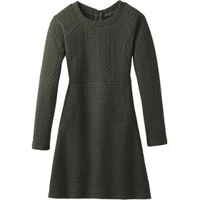 Prana Macee Dress Dam dark olive heather